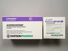 androderm gel testosteron