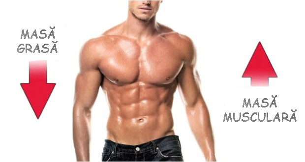 Slabire si crestere masa musculara